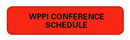 WPPI 2013 Conference Schedule