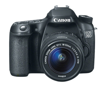 Introducing Canon's New DSLR: The 70D