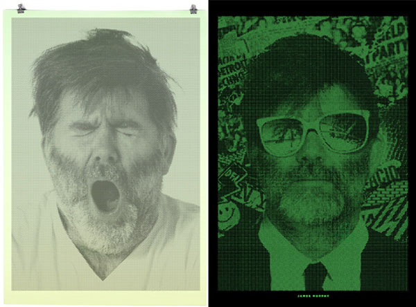 James Murphy Binary Print