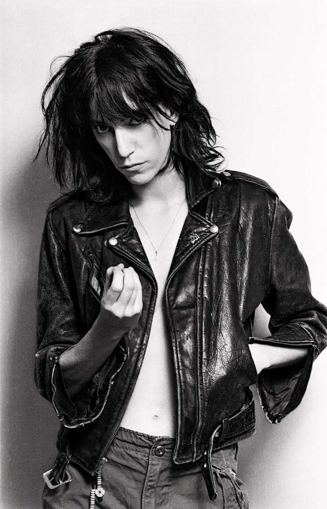 Musician, artist and poet, Patti Smith.