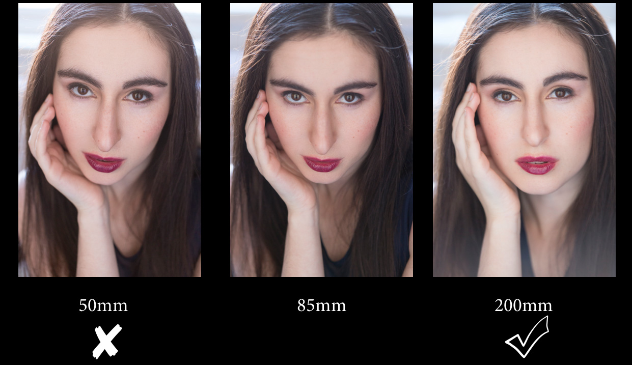 How to Photograph A Pronounced Nose—Portrait Tips from