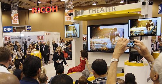Bambi Cantrell Nikon booth
