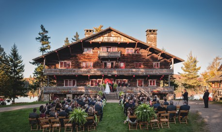 Great Camp Sagamore Wedding by Joe Grant Photography [RF Wedding of the Week]
