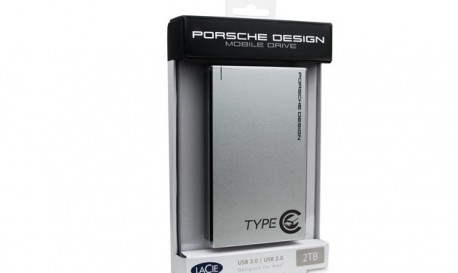 """LaCie Ready for USB-Cs with its Stylish """"Porsche"""" Hard Drive [Tech Tuesday]"""