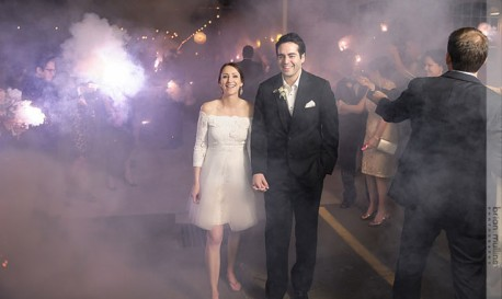 Tip of the Day: Sparklers and Wedding Photography Don't Always Mix