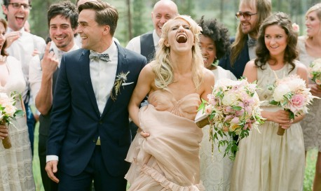 A Perfectly Heartwarming Springtime Wedding, by Laura Murray [RF Wedding of the Week]