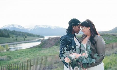 Mountaintop Bohemian-Style Nuptials, Photographed by Cassandra Zetta [RF Wedding of the Week]
