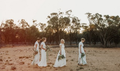 Queensland Nuptials That Went Viral For a Cause, Shot by Edwina Robertson [RF Wedding of the Week]