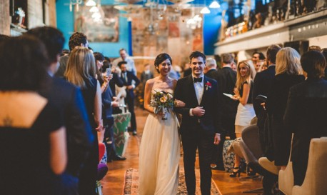 A Charming Philly Wedding at an Artistically Quirky Venue, by Viva Love Photography [RF Wedding of the Week]