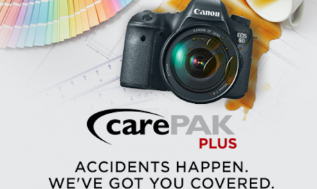 Canon's Cure for the Clumsy: 13 Months of Free Repair on Select Gear