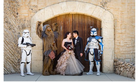 A Star Wars Wedding, by Rob Greer [RF Wedding of the Week]