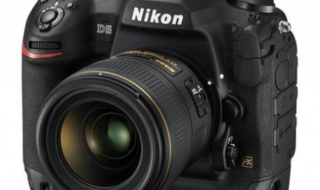 Nikon's D5 Records 4K Video, Shoots at Incredibly High ISOs