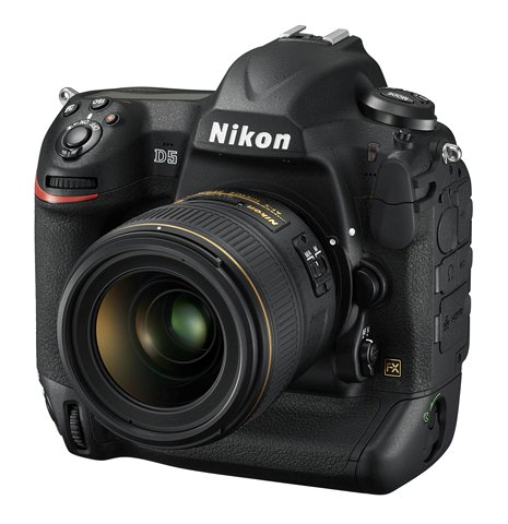 Nikon Improves Video Recording in D5 Firmware Update