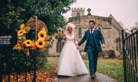 Relaxed Vibes and Charming Character in Rainy Yorkshire, Captured by Paul Santos [RF Wedding of the Week]