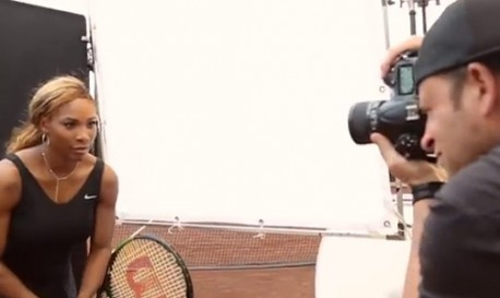 Chase Jarvis Shoots Serena Williams and Other Tennis Stars (and Gives Pointers for Photographing Celebrity Talent) [RF Video of the Week]