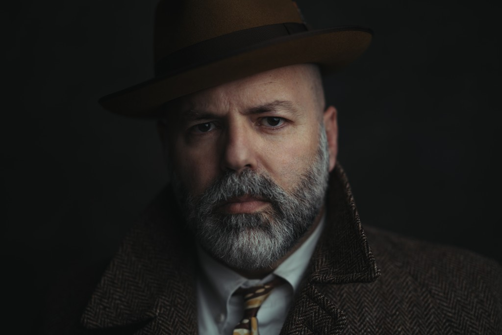 This portrait was made using a one-light setup: A medium-sized octabox with the subject against a collapsible background. Shot with the Sony α7R II. Settings: f/1.4, 1/200 of a second, ISO 100 with the Sony FE 85mm GM Lens.