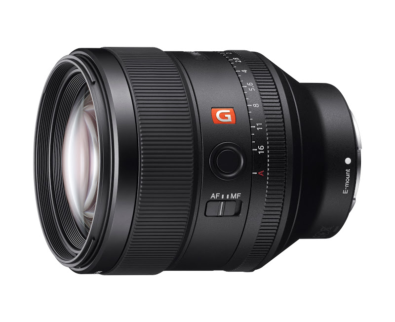 The new Sony FE 85mm f/1.4 GM Lens.