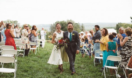 Homegrown Love and Celebration of Vows, Shot by Wonderbliss Photography [RF Wedding of the Week]