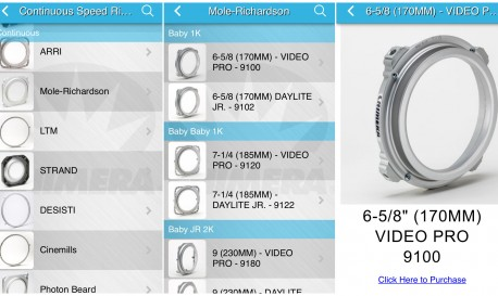 Need to Find the Right Speed Ring or an LED Lightbank? There's an App for That! [Tech Tuesday]