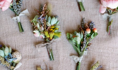 Back to Nature: A Floral Fantasy, by Laura Murray [Rf Wedding of the Week]