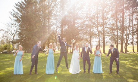 A Very Blue Wedding, by Donal Doherty [Rf Wedding of the Week]