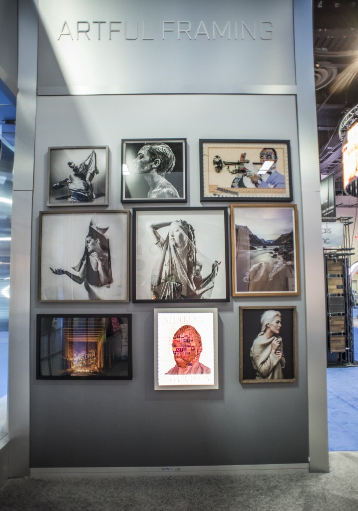 Examples of Duggal's artful framing techniques.