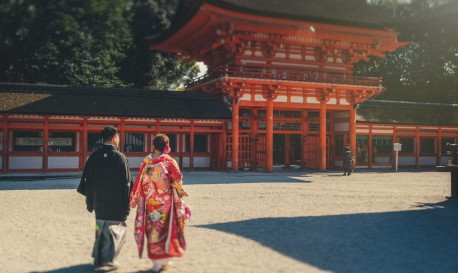 Table for Two in Kyoto, by Roberto Panciatici [Rf Wedding of the Week]