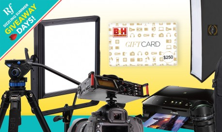 Ready to Shop? Enter Now to Win a $250 B&H Gift Card