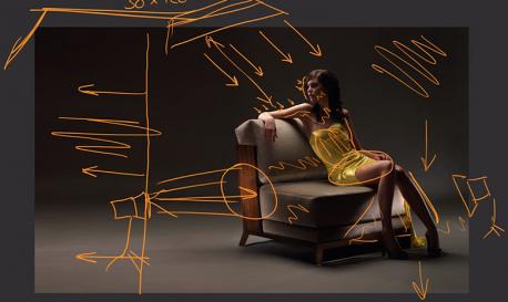 Here's How You Light a Beautiful Studio Portrait