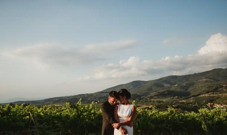 Chianti Region Rejoicing, by Francesco Spighi [Rf Wedding of the Week]