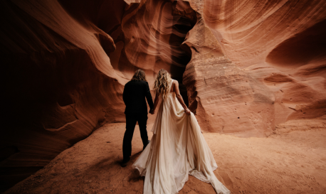 Canyon Escape for Two Elopers [Rf Photo of the Day]