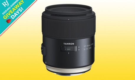 Giveaway Time! Win a Tamron SP 45mm Lens