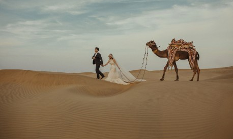 Golden City Magic in India, Captured by Danelle Bohane [Rf Wedding of the Week]
