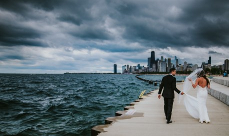 Windy City Weather Win, By Christopher Foltz [Rf Wedding of the Week]