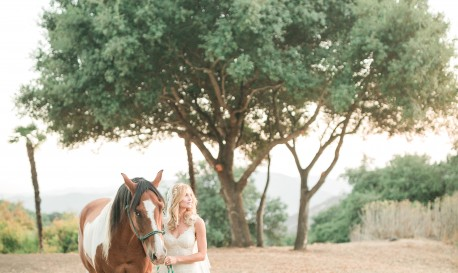 Celebrity Bride, California Sun and an Awesome Ranch [Rf Photo of the Day]
