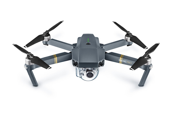 Mavic Pro (Unfolded, Frontal View) copy