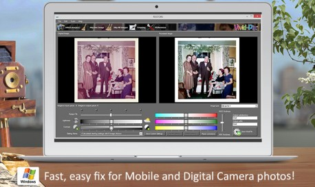 Restore Scanned Photos Easily with Vivid-Pix