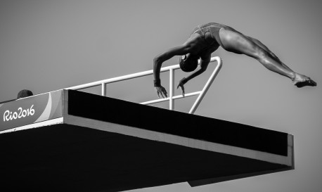 The Artful Diver [Rf Photo of the Day]