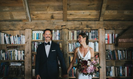 Rustic Romance at a Family Farm, by J.Lee Photography [Rf Wedding of the Week]