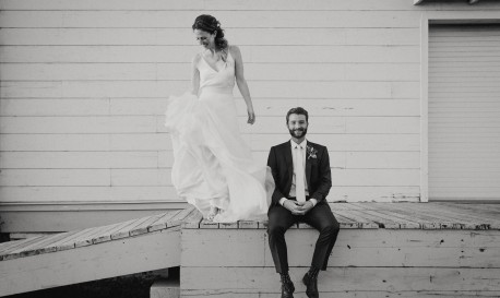 Love on Fire, by Helena and Laurent [RF Wedding of the Week]