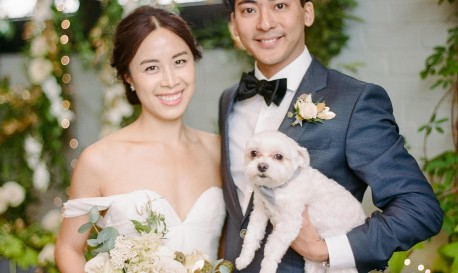 Puppy Love, By Rebecca Yale [Rf Wedding of the Week]
