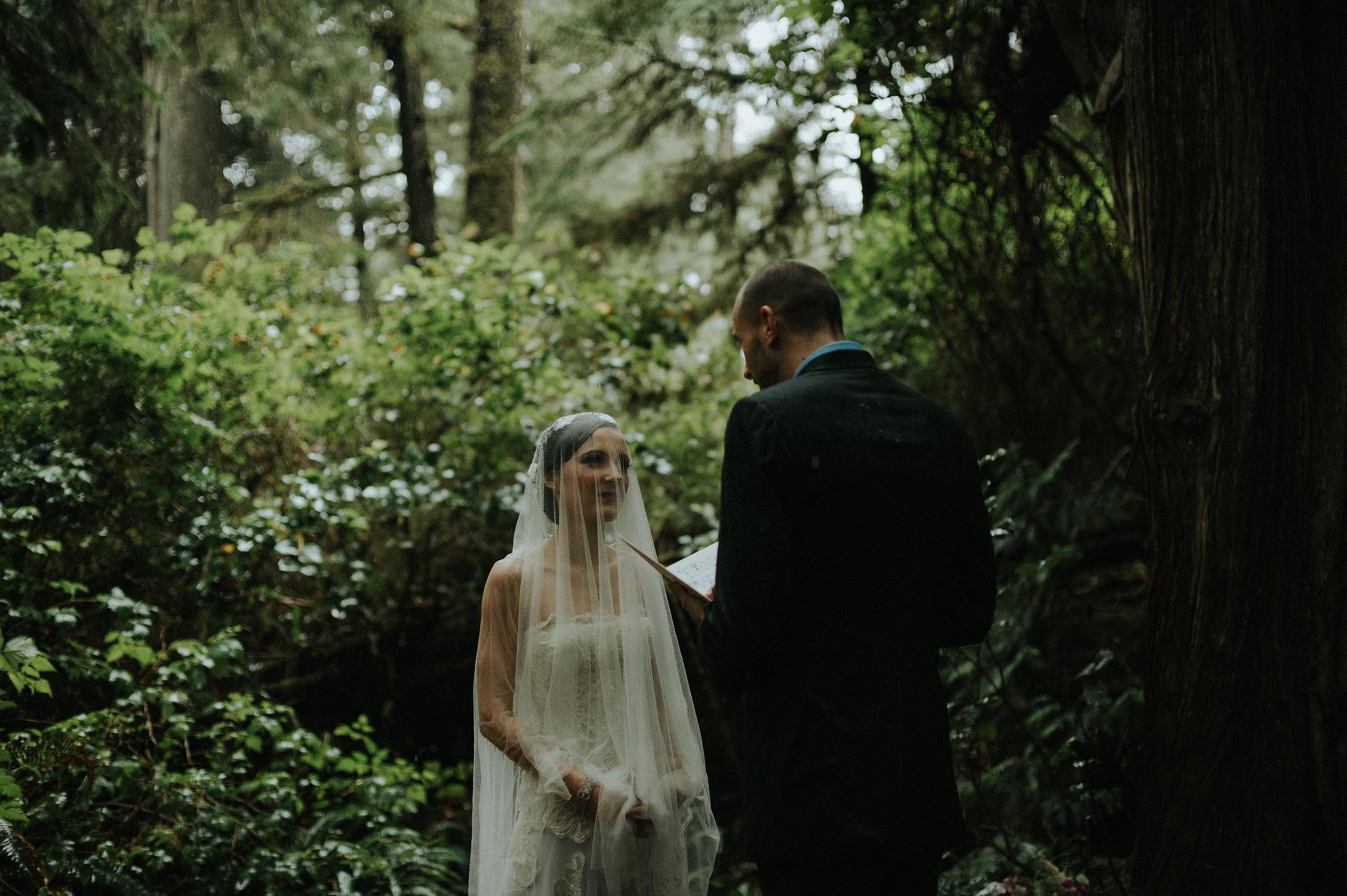 Dreamy Tofino elopement at Pacific Rim National Park by destination wedding photographer Daring Wanderer // www.daringwanderer.com
