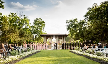 Garden Party Nuptials, by Cristina G [Rf Wedding of the Week]