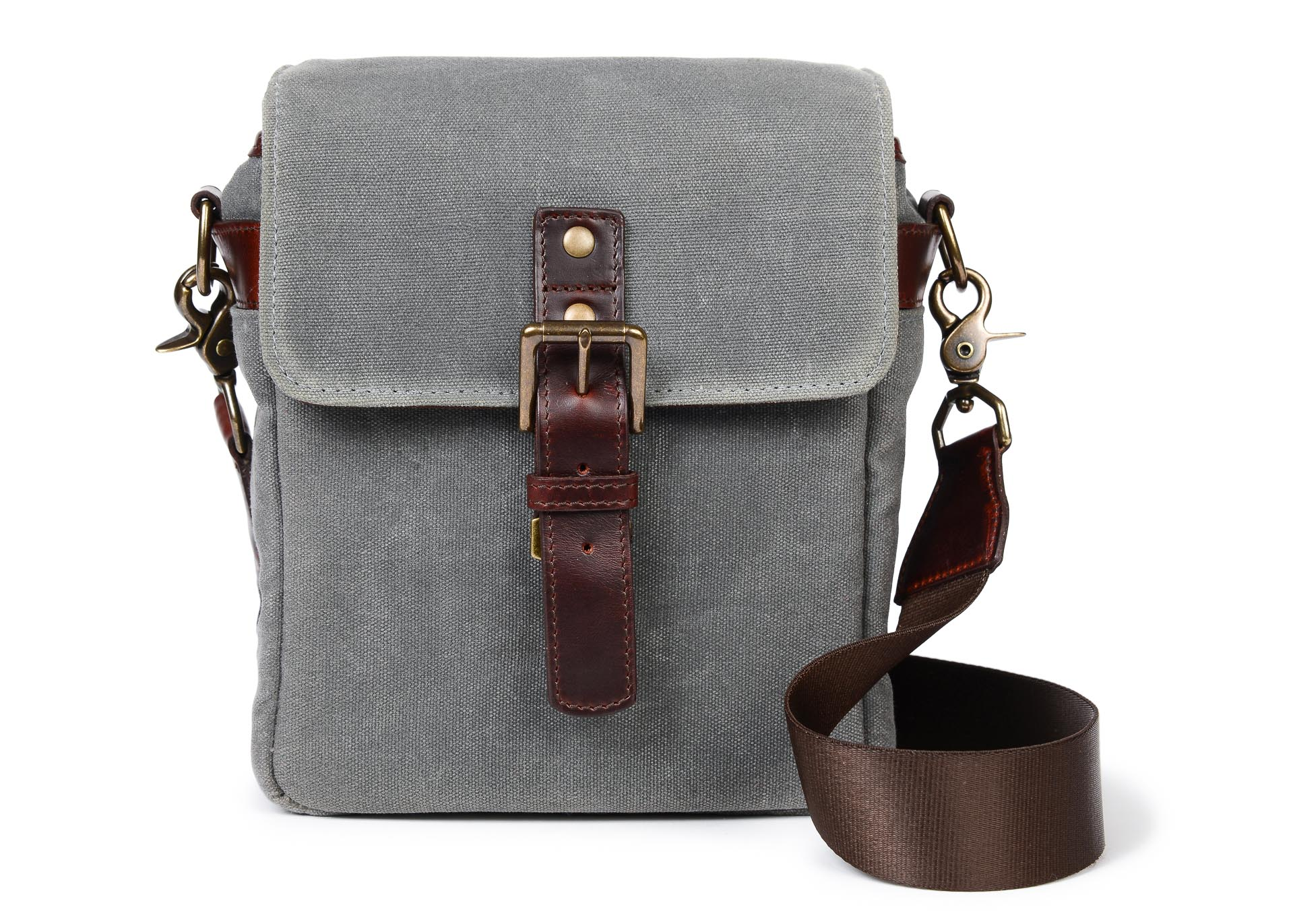 e1d44c16c01 Both the leather and canvas models are handcrafted and can fit a mirrorless  camera with lens attached, along with one or two additional lenses.