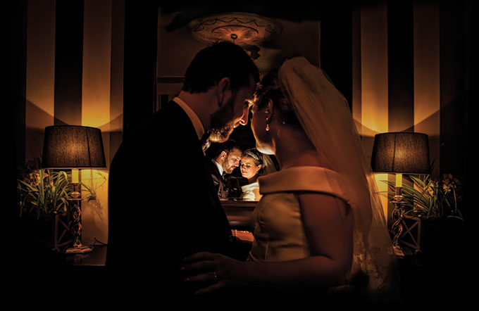 How to Fix Bad Lighting While You're Photographing a Wedding